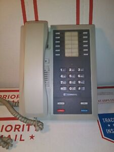 Comdial Telephone Intercom Mountable Office Business Phone System Upright Cord