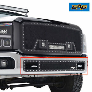 Eag Fit 2011 2016 Ford Super Duty Rivet Grille Steel Mesh Bumper Grille Insert