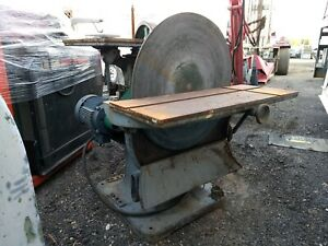 Oliver Disc Sander Spindle Sander 30