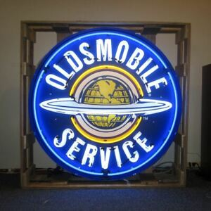 Neonetics 9oldbk Oldsmobile Service 36 Inch Neon Sign In Metal Can