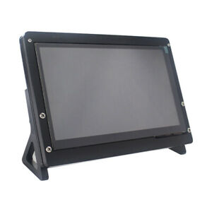 7 Inch 800x480 Raspberry Pi Touch Screen Lcd Display Hdmi Monitor Acrylic Case