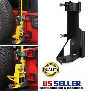 Hi Lift Jack For Jeep Wrangler Jk Rubicon Carrier Offroad Hood Mount Bracket 18