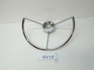 Ford Chrome Steering Wheel Horn Ring F 100 F100 Falcon Fairlane 60 61 62 63 64