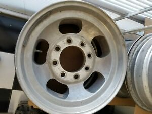 Slotted Mag Wheels 8 Lug