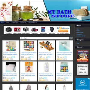 Bath Shower Store Easy To Operate Highly Profitable Online Business Website