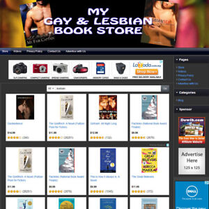 Gay Lesbian Book Store Turnkey Online Business Website For Sale Free Domain