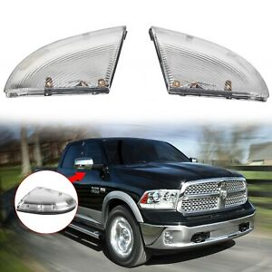 Front Driver Passenger Mirror Turn Signal For 09 14 Dodge Ram 1500 10 14 2500