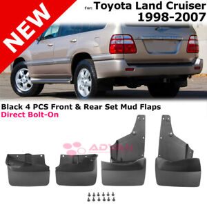 Mudguards For Toyota Land Cruiser 1998 2007 Splash Guards Mudflaps Complete Set