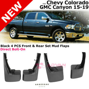 Front Rear Left Right Splash Guards For 09 18 Ram 1500 2500 3500 Mud Guard Flaps