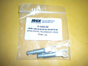 Upchurch Idex P 1000 Standard Knurl Torque Wrench Head Replacements
