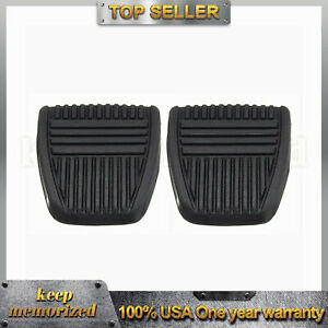 Brake Pedal Pad Antislip Clutch Rubber Cover Fits Toyota Camry 1981 1999 Celica