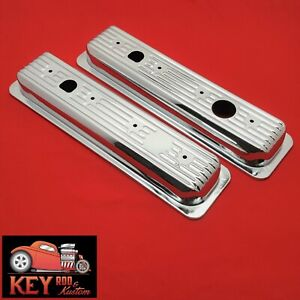 Chevy Gmc Truck Chrome Center Bolt Valve Cover Caps 1987 98 305 350 5 0 5 7