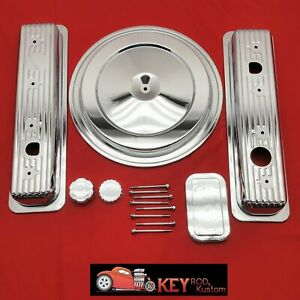 1988 1992 Chevy Gmc Truck Chrome Engine Dress Up Kit C1500 Silverado 305 350 5 7