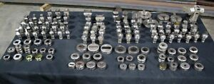 Wa Whitney 647d cnc Punch Press Large Lot Of Punches Dies Die Holders