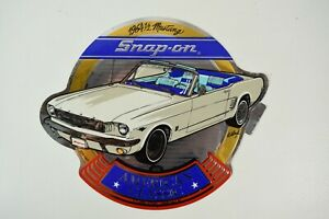 Nos Vintage Snap On Tools American Classic 64 Mustang Tool Box Decal P N Ssx1577