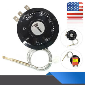 Capillary Thermostat Cooling Radiator Fan Control Switch Universal Hot