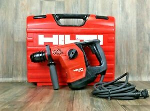 Hilti Te 30 Kit Corded Rotary Hammer Drill Sds plus Lithium Battery 40 35 C Case