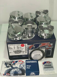 Srp Je Pistons 182056 Small Block Chevy 400 3 750 Stroke 4 155 Bore New