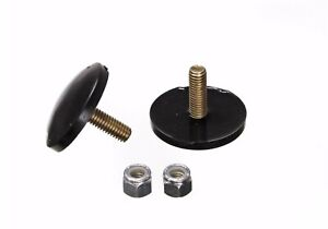 Energy Suspension 9 9132g Black Poly Universal Bump Stop Ultra Low