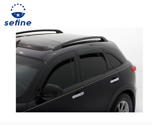 Avs 896001 Low Profile Ventvisor Window Deflector 6pc For 03 2008 Infiniti Fx35