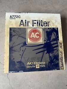 Vintage Nos Ac Air Filter A 772 c 25040489 1987 82 Buick Sealed