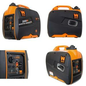 Wen 56200i Super Quiet 2000 watt Portable Inverter Generator Carb Compliant