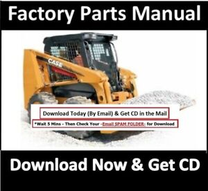 Case 450 450 Ct Skid Steer Parts Manual Compact Track Loader 450ct 2 Manuals