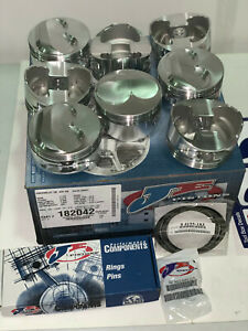 182042 Je Pistons 400 Series Small Block Chevy 3 875 Stroke 4 165 Bore New