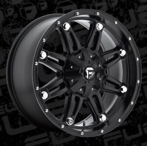 Fuel Hostage D531 20x9 5x5 5 5x150 Et1 Matte Black Rims Set