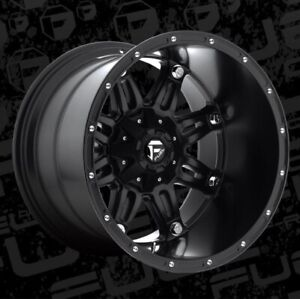 Fuel Hostage D531 20x14 8x6 5 Et 76 Matte Black Rims Set