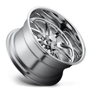 22x11 Us Mag Rambler U110 5x5 Et18 Chrome Wheels set