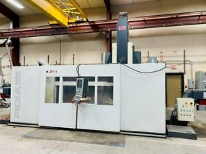 Used Fidia 211 Full 5 axis High Speed Machining Center With Xp Operating System