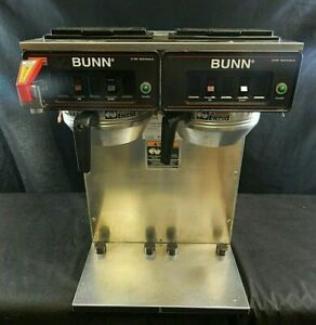 Bunn Commercial Coffee Maker Twin Pot icwtf Twin 50307 240v
