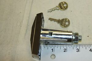 Ap Automatic Products T Handle Assembly With Medeco Lock Cylinder W 2 Keys