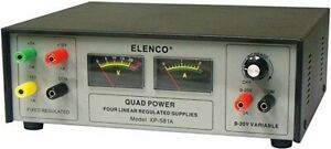 Elenco Xp 581a Quad Variable Dc Power Supply brand New And Sealed