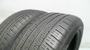 pair Of 245 45 18 Pirelli Cinturatop7 Runflat With 85 Tread 8 5 32 6190 100h