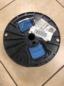 12 Awg Thhn Thwn Electric Wire 500 Spool Stranded Blue