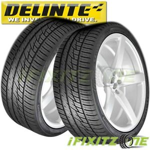 2 X New Delinte Desert Storm D8 275 40zr20 108w Xl Tires