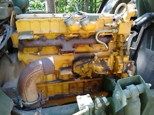 Cat Caterpillar 3116 Diesel Engine Run Tested video Only 10k Miles On It
