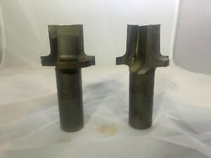 Pair Of 1 4 Round Over Cnc Router Bits