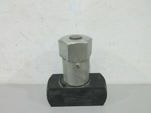 New Parker N1600s Hydraulic Flow Control Valve
