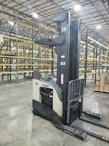 2 Available Electric Reach Truck 2000 Crown Rr5220 45
