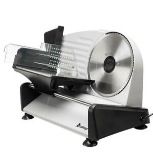 7 5 190mm Blade Meat Slicer Electric Ham Deli Bread Cheese Cutter Kitchen 150w