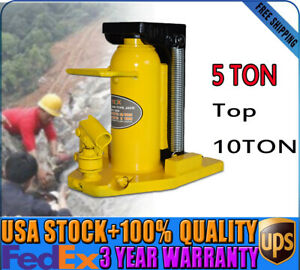 Claw Loading 5ton top 10ton Hydraulic Machine Toe Jack Lift Stable Jack Stands