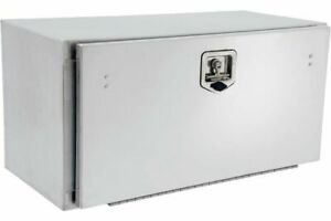 24 Stainless Steel Underbody Tool Box With Cover Lid