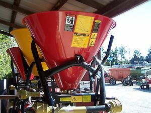 New Tar River Sss 300 3 Pt Spreader seeder can Ship Fast And Cheap