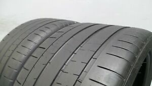 Pair Of 295 30 20 Michelin Pilot Super Sport With 70 Tread 6 32 S 6236 101y