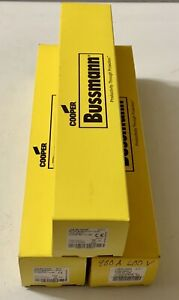 New In Factory Box unopened Cooper Bussman Lps rk 400sp Fuse Ships Today Free
