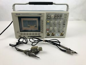 Tektronix Tds3012 Digital Phosphor Oscilloscope 2 Channel Test Equipment