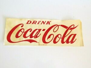 Coca Cola Vintage Meyercord Co Water release Transfer decal 112-9R NEW